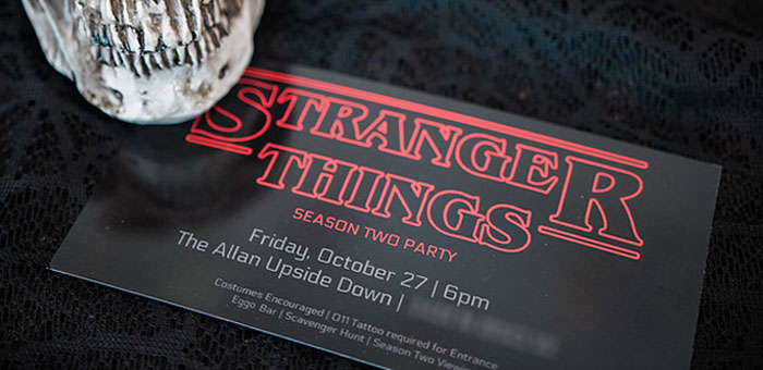Stranger Things Viewing Party on Kara's Party Ideas | KarasPartyIdeas.com (2)