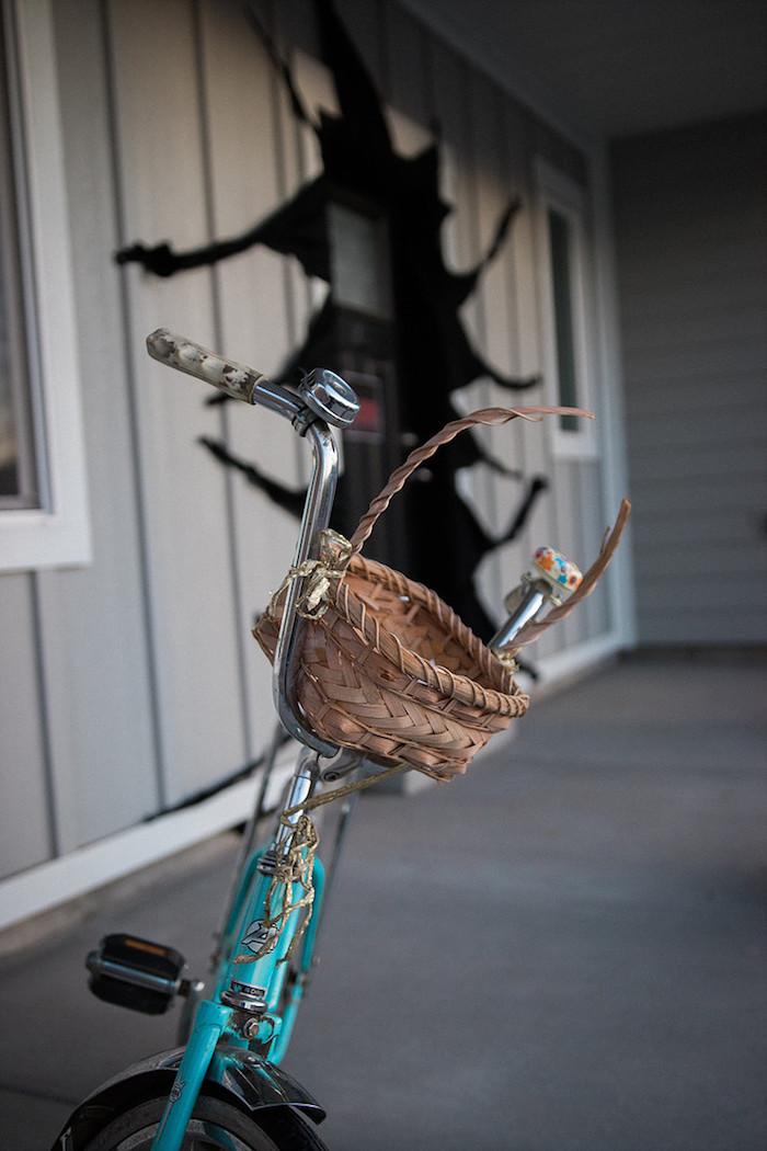 Bicycle from a Stranger Things Viewing Party on Kara's Party Ideas | KarasPartyIdeas.com (16)