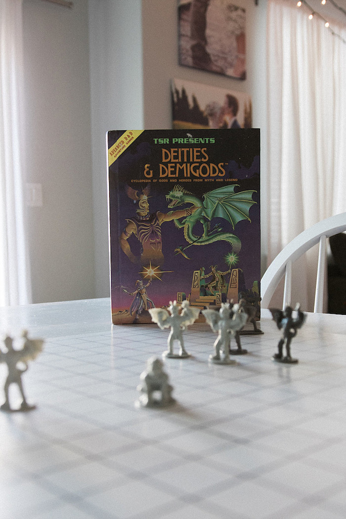 Dungeons & Dragon Decor from a Stranger Things Viewing Party on Kara's Party Ideas | KarasPartyIdeas.com (15)