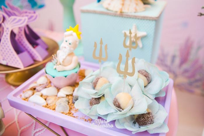 King Triton's Sweet Platter from The Little Mermaid Birthday Party on Kara's Party Ideas | KarasPartyIdeas.com (20)