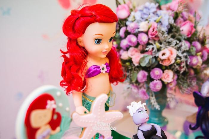 Ariel Prop from The Little Mermaid Birthday Party on Kara's Party Ideas | KarasPartyIdeas.com (10)
