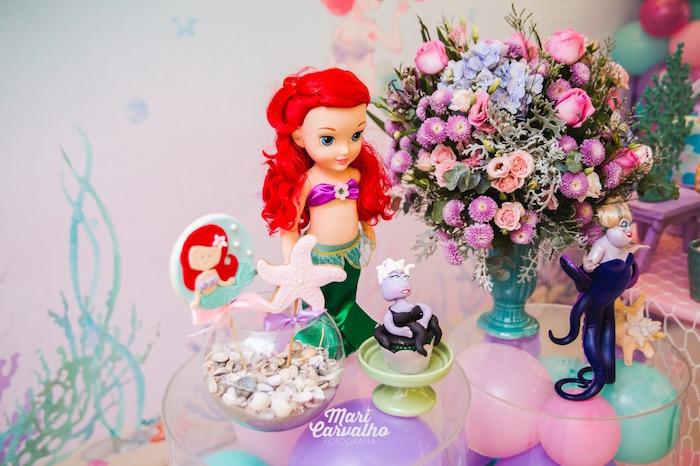Sweets & Decor from The Little Mermaid Birthday Party on Kara's Party Ideas | KarasPartyIdeas.com (9)