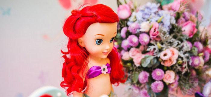 The Little Mermaid Birthday Party on Kara's Party Ideas | KarasPartyIdeas.com (3)