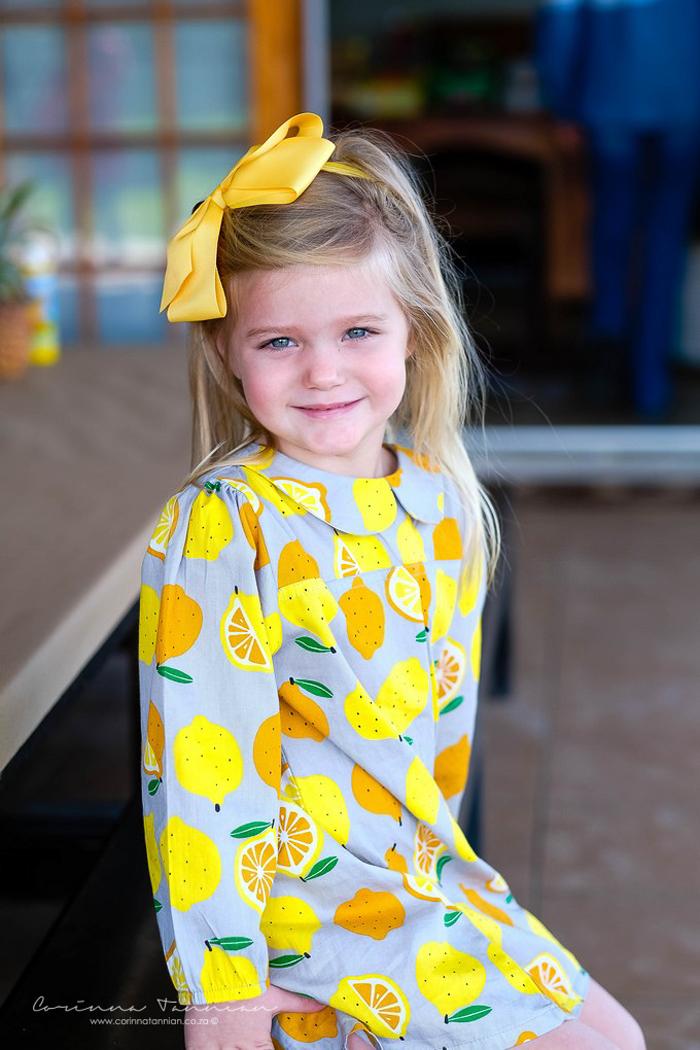 The Cutest Orange Slice & Lemon Dress from a Tutti Fruitti Birthday Party on Kara's Party Ideas | KarasPartyIdeas.com (30)