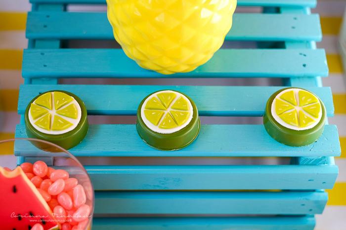 Lime Slice Chocolate Covered Oreos from a Tutti Fruitti Birthday Party on Kara's Party Ideas | KarasPartyIdeas.com (18)