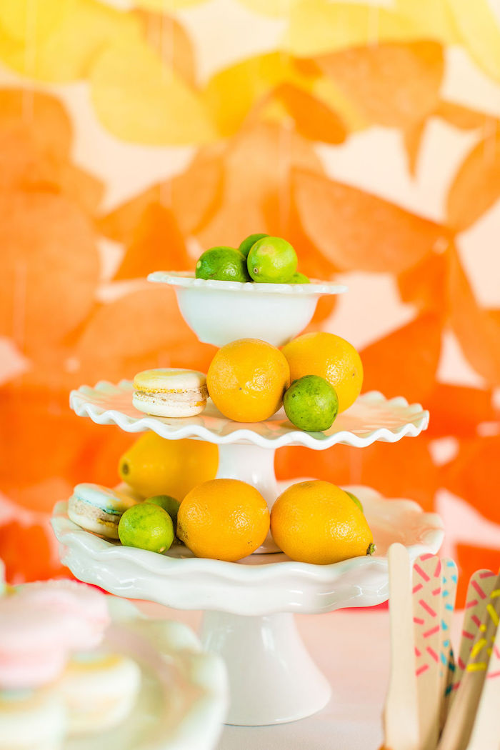 Fruit Platter from a Tutti Frutti Color Pop Party on Kara's Party Ideas | KarasPartyIdeas.com (12)