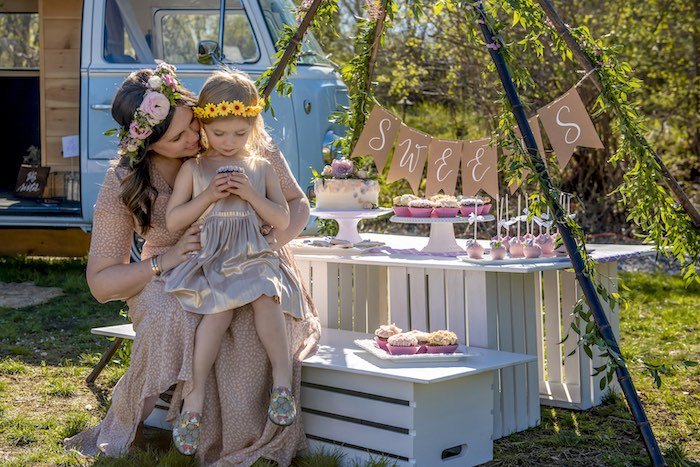 Vintage Boho Baby Shower on Kara's Party Ideas | KarasPartyIdeas.com (20)