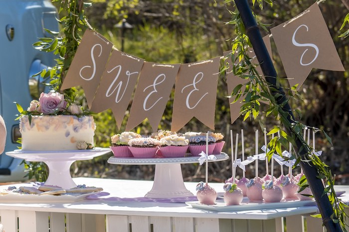 Vintage Boho Baby Shower on Kara's Party Ideas | KarasPartyIdeas.com (19)