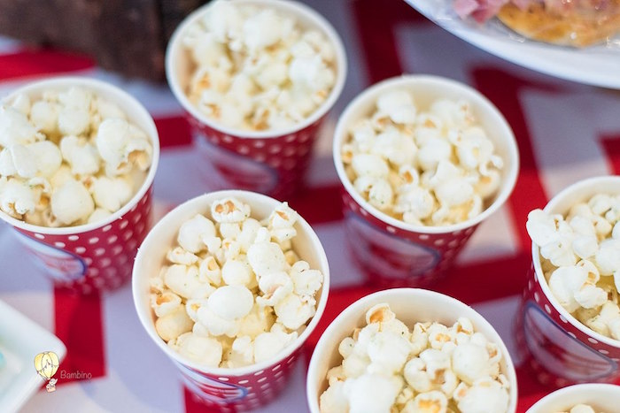 Popcorn Cups from a Vintage Planes and Hot Air Balloons Party on Kara's Party Ideas | KarasPartyIdeas.com (17)