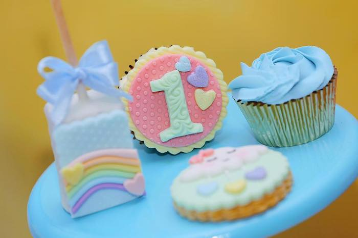 """Chuva de Amor"" Rain Love Birthday Party on Kara's Party Ideas | KarasPartyIdeas.com (5)"