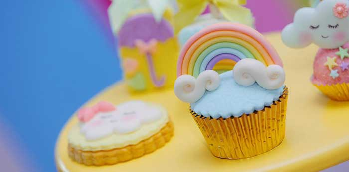 """Chuva de Amor"" Rain Love Birthday Party on Kara's Party Ideas | KarasPartyIdeas.com (2)"