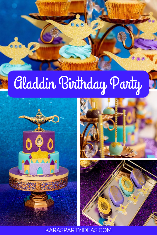 Aladdin Birthday Party via Kara's Party Ideas - KarasPartyIdeas.com