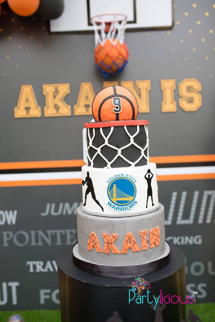 Remarkable Karas Party Ideas Basketball Birthday Party Karas Party Ideas Funny Birthday Cards Online Aeocydamsfinfo