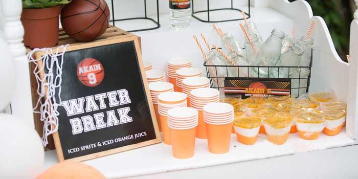 Basketball Birthday Party on Kara's Party Ideas | KarasPartyIdeas.com (4)
