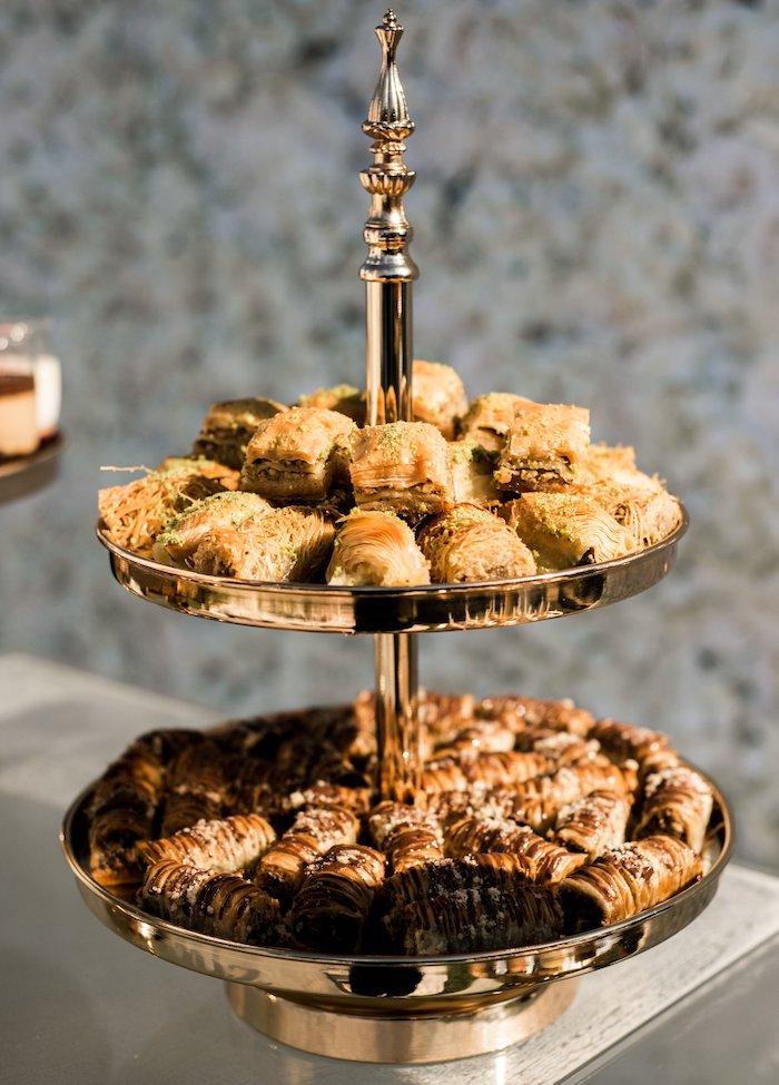 Dessert Platter from a Boho Swan Princess Birthday Party on Kara's Party Ideas   KarasPartyIdeas.com (16)