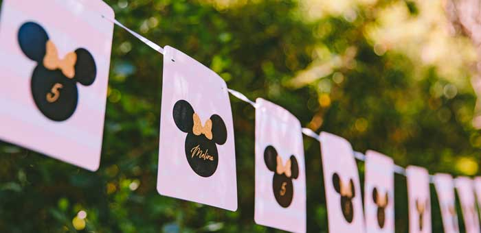 Boutique Minnie Mouse Birthday Party on Kara's Party Ideas | KarasPartyIdeas.com (1)