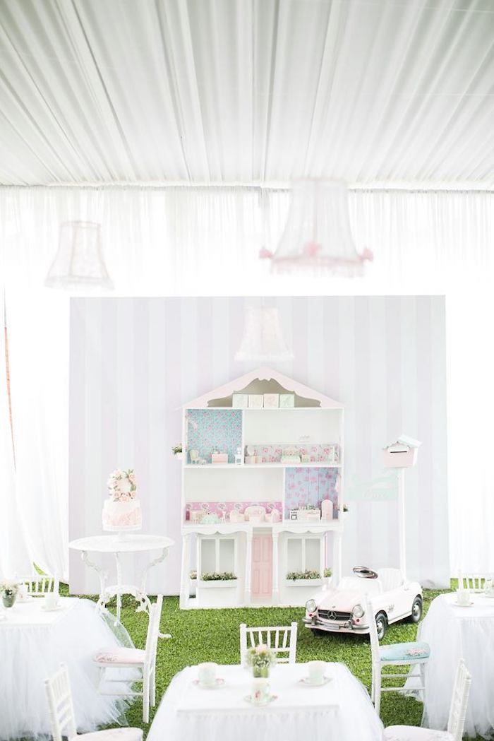 Doll House Birthday Party + Cake on Kara's Party Ideas | KarasPartyIdeas.com (25)