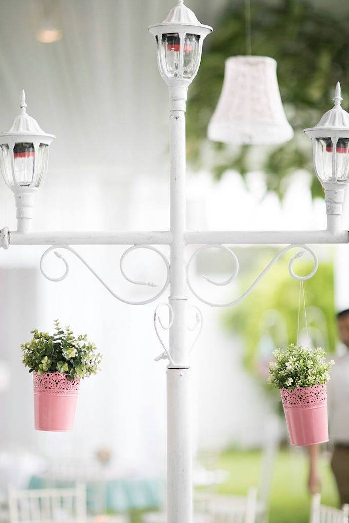 Light Post from a Doll House Birthday Party + Cake on Kara's Party Ideas | KarasPartyIdeas.com (31)
