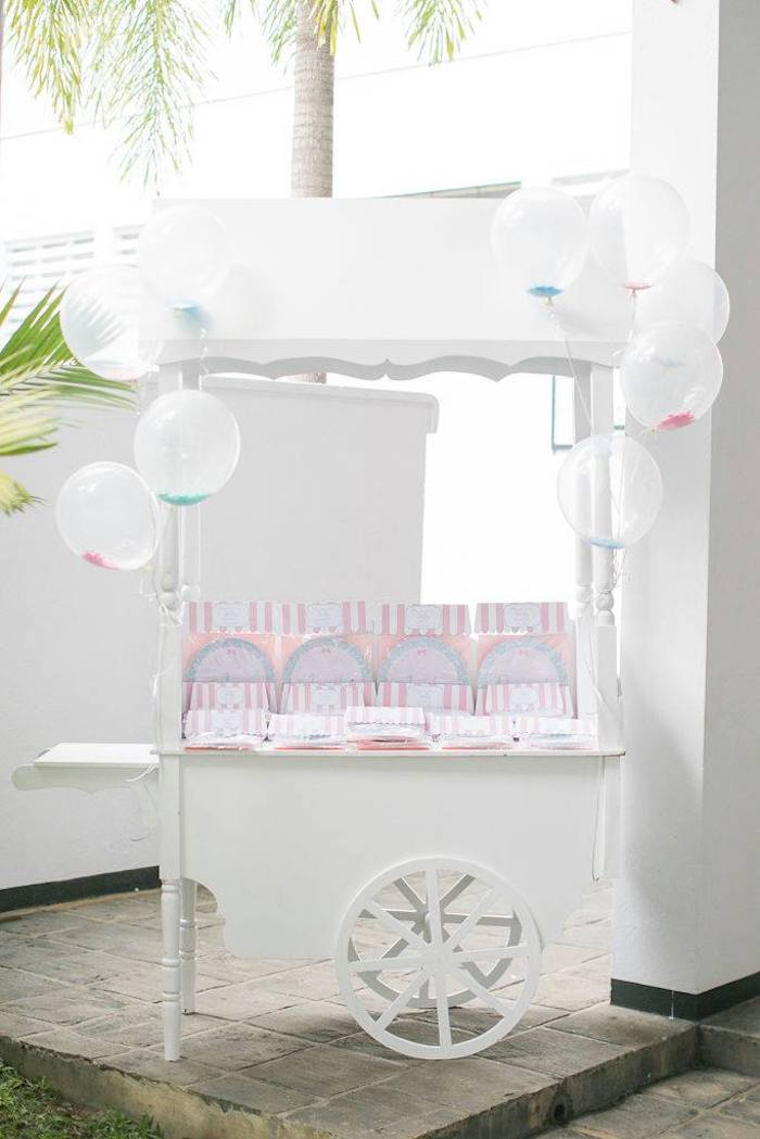 Favor Cart from a Doll House Birthday Party + Cake on Kara's Party Ideas | KarasPartyIdeas.com (30)