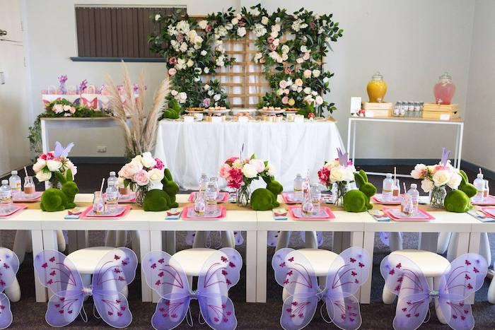 Enchanted Fairy Garden Birthday Party on Kara's Party Ideas | KarasPartyIdeas.com (14)