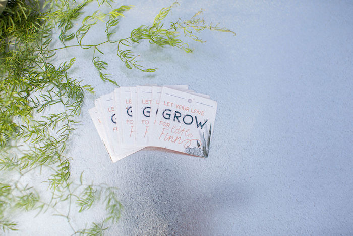 Seed Packet Favors from an Ethereal Greenhouse Baby Shower on Kara's Party Ideas | KarasPartyIdeas.com (21)