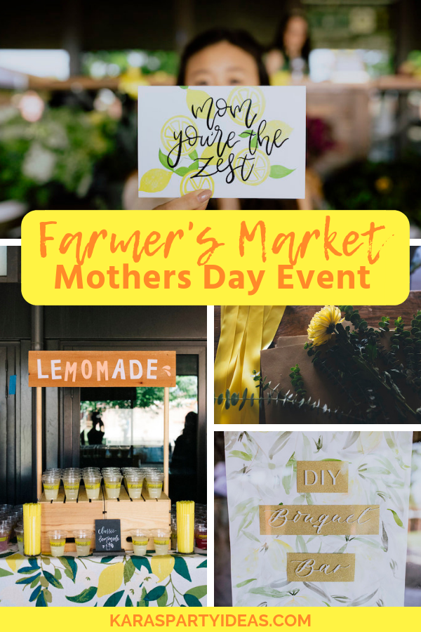 Farmer's Market Mothers Day Event via Kara's Party Ideas - KarasPartyIdeas.com (1)