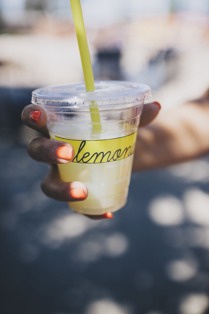 Lemonade from a Farmer's Market Mother's Day Event on Kara's Party Ideas | KarasPartyIdeas.com (12)