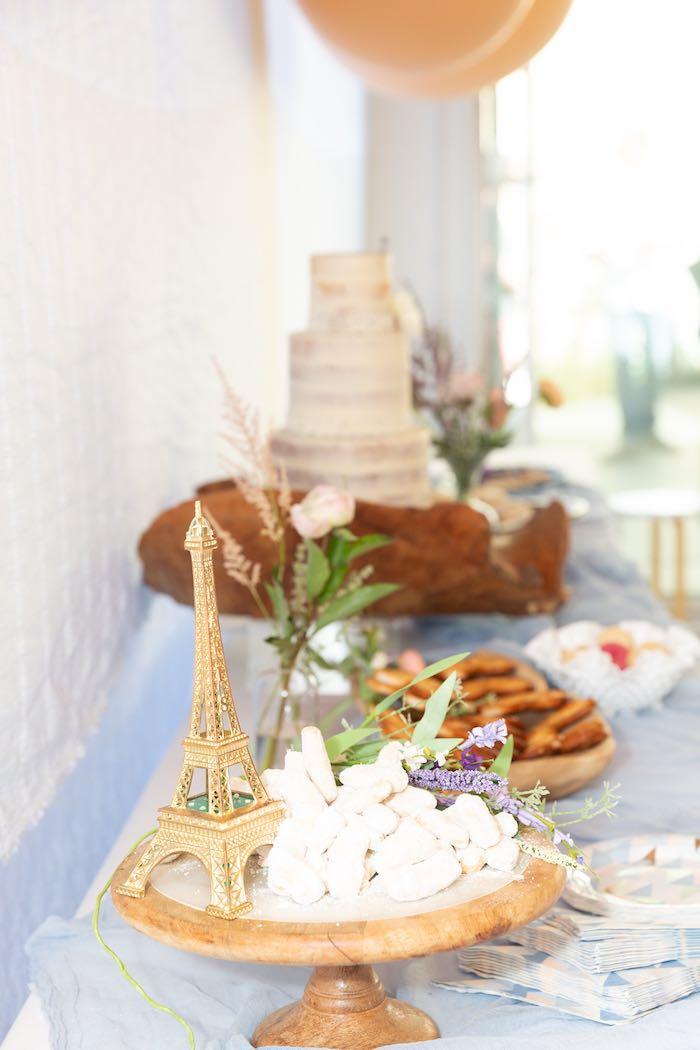 Sweet Table from a French Parisian Market Birthday Party on Kara's Party Ideas | KarasPartyIdeas.com (19)