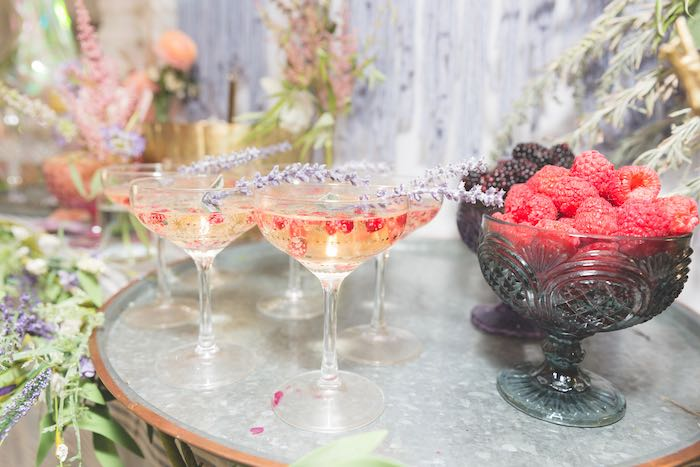 Drinks from a French Parisian Market Birthday Party on Kara's Party Ideas | KarasPartyIdeas.com (9)