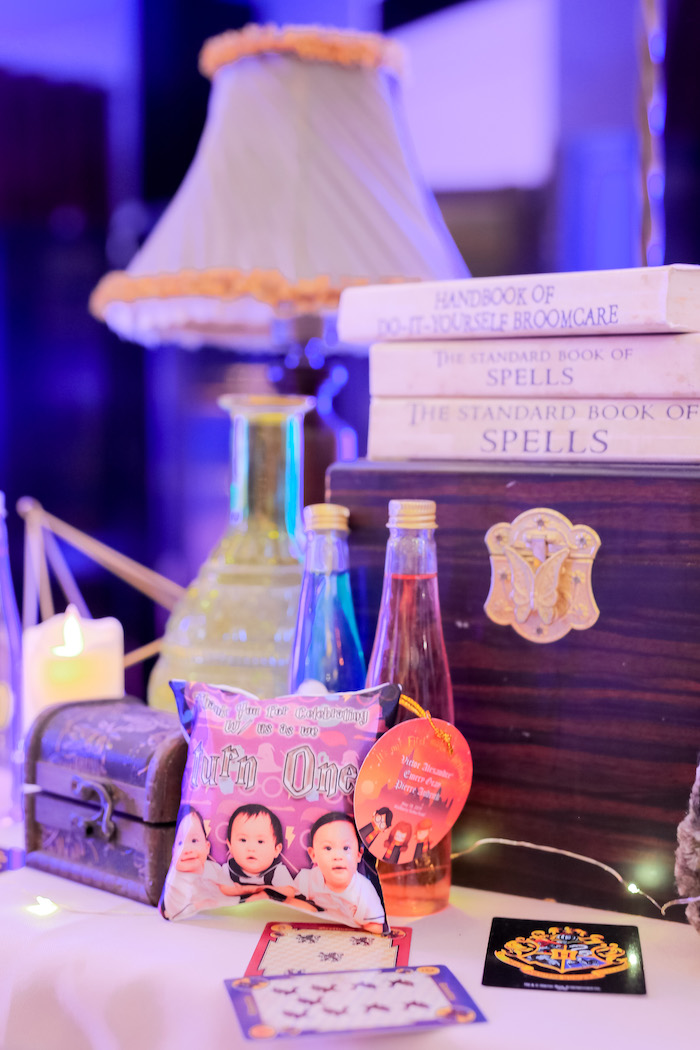 Potions & Books from a Harry Potter Party for Triplets on Kara's Party Ideas | KarasPartyIdeas.com (17)