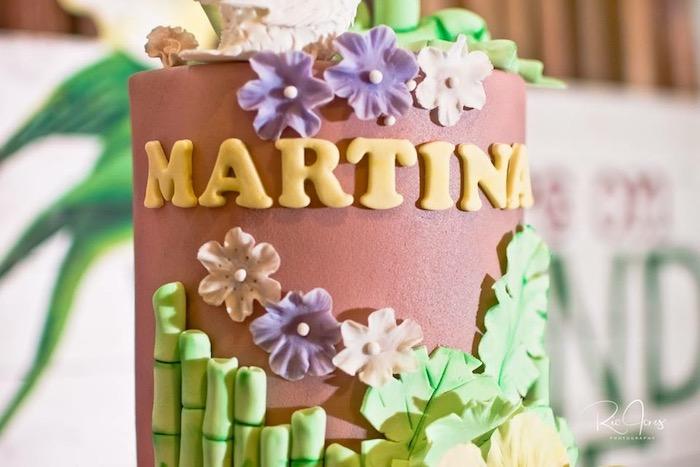 Luau Birthday Cake from a Hawaiian Luau Inspired Birthday Party on Kara's Party Ideas | KarasPartyIdeas.com (9)