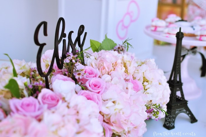 Decor + Blooms from a Hello Kitty in Paris Birthday Party on Kara's Party Ideas | KarasPartyIdeas.com (17)