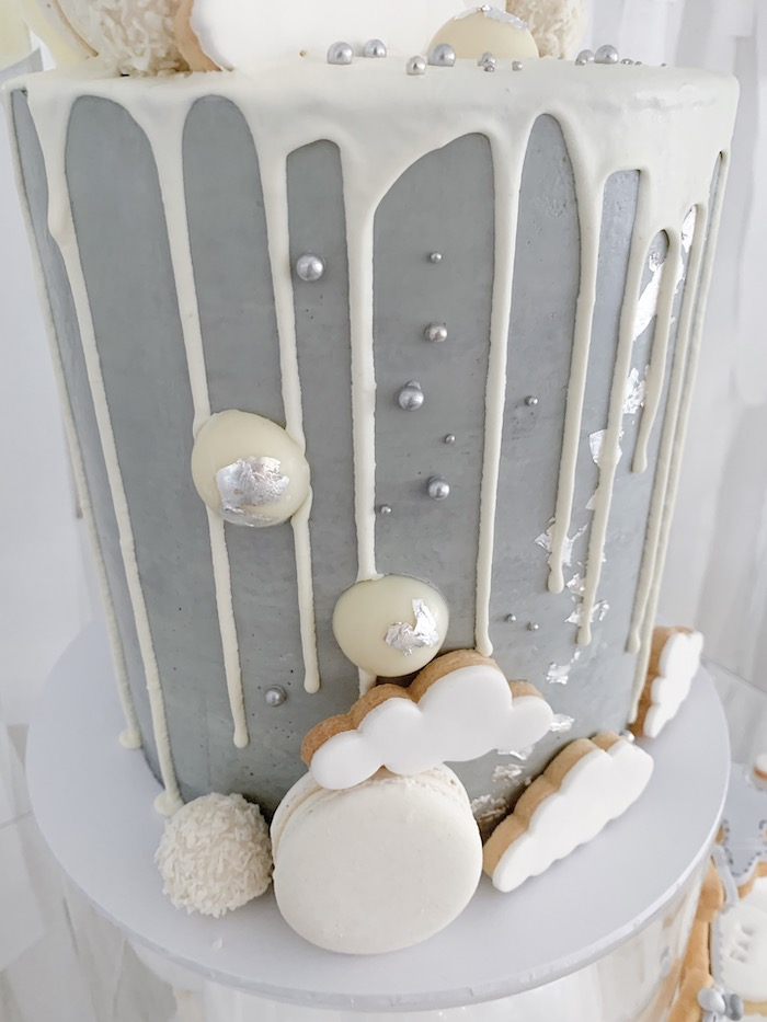 Monochromatic Time Flies Cake from a Minimal Scandinavian Inspired Aviation Birthday Party on Kara's Party Ideas | KarasPartyIdeas.com (16)