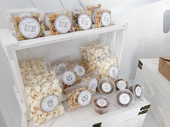 In-Flight Snack Bar from a Minimal Scandinavian Inspired Aviation Birthday Party on Kara's Party Ideas | KarasPartyIdeas.com (14)