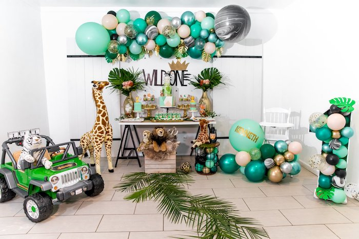 "Modern ""Wild One"" 1st on Kara's Party Ideas 