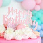 Pastel Sorbet Inspired Balloon Birthday Party on Kara's Party Ideas | KarasPartyIdeas.com (5)
