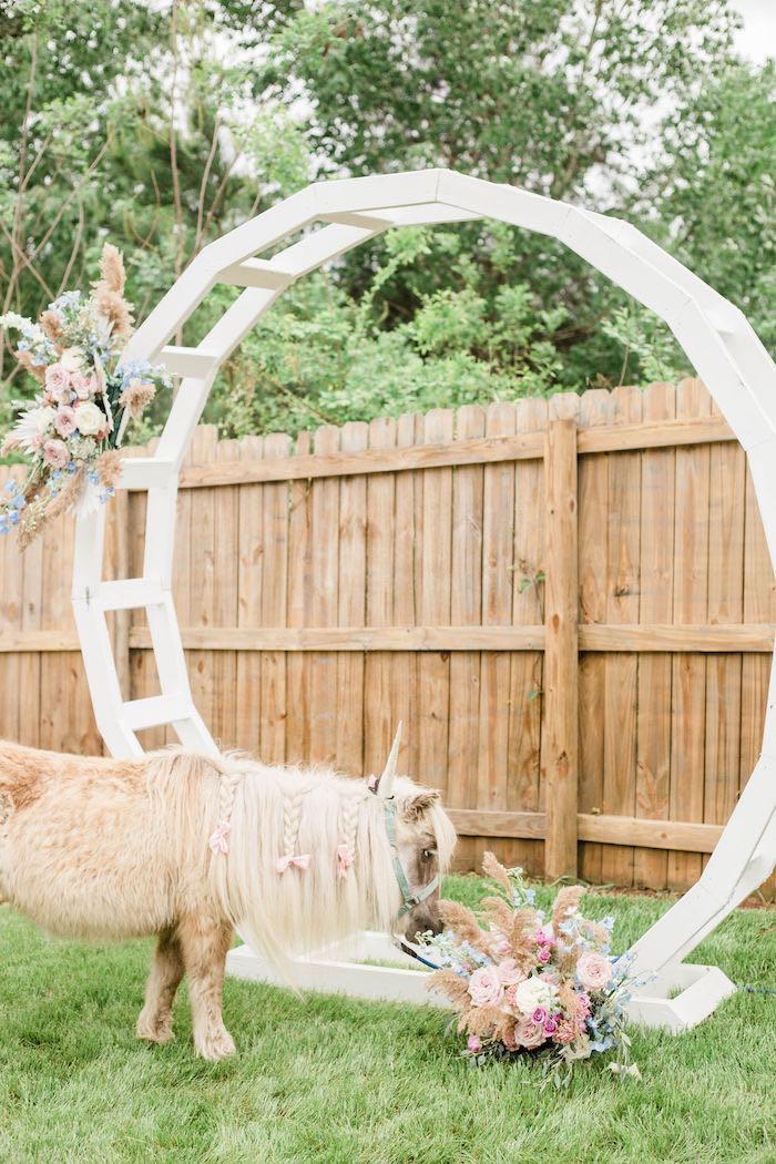 Pastel Two-nicorn Unicorn 2nd Birthday Party on Kara's Party Ideas | KarasPartyIdeas.com (15)