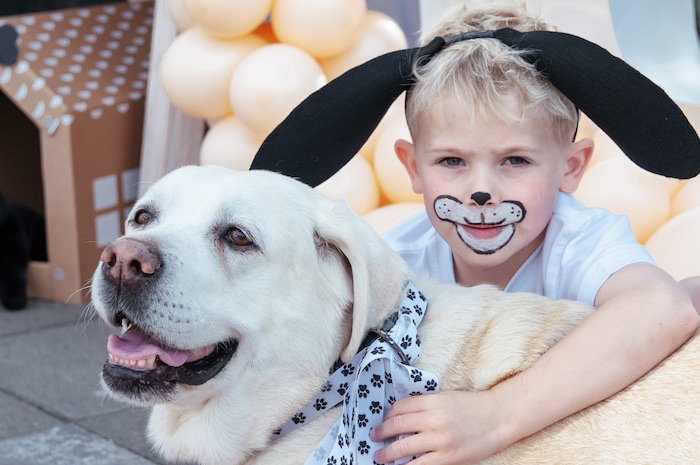 Puppy Face Paint from a Puppy Party on Kara's Party Ideas | KarasPartyIdeas.com (21)