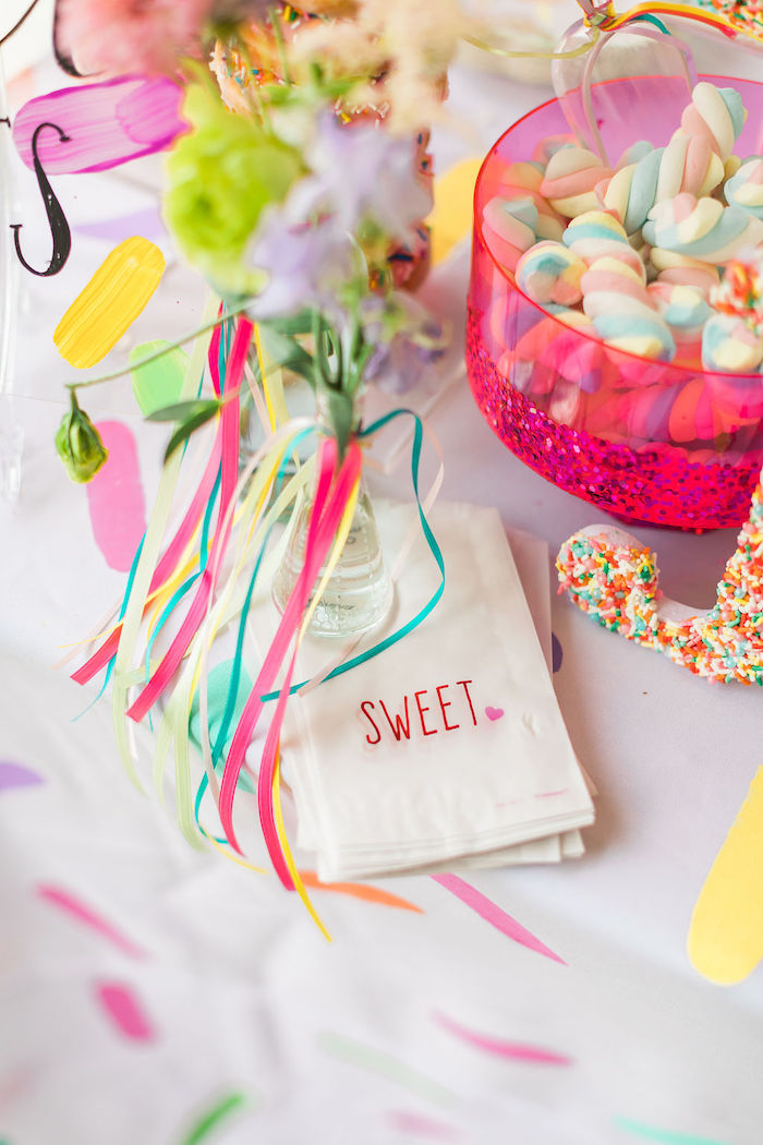 Sweet - Treat Bags from a Sprinkles and Ice Cream Birthday Party on Kara's Party Ideas | KarasPartyIdeas.com (16)