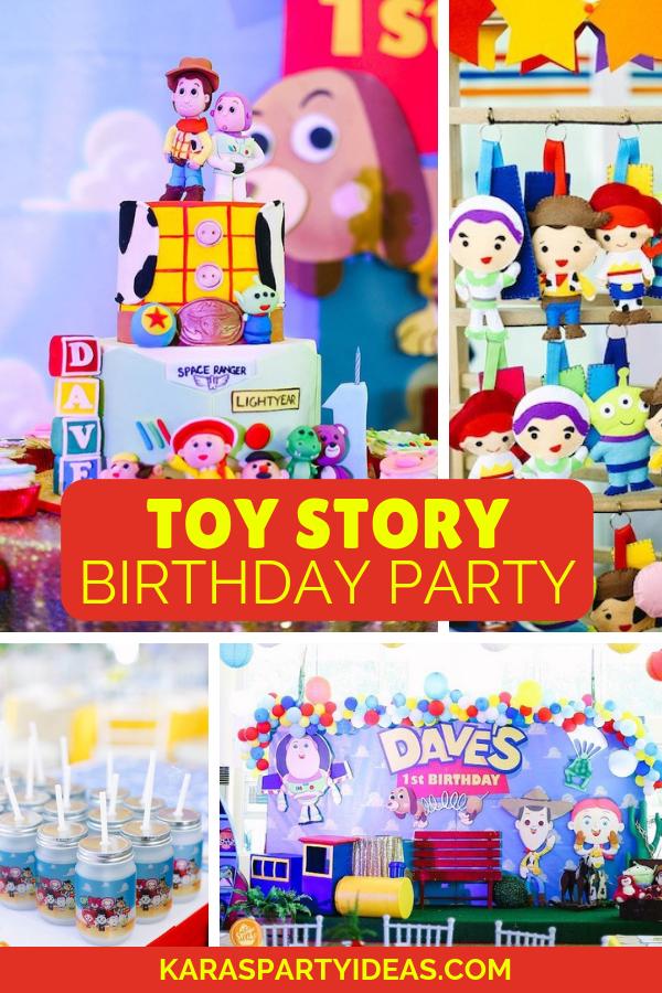 Toy Story Birthday Party via Kara's Party Ideas - KarasPartyIdeas.com (1)