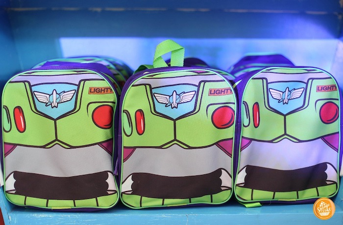 Buzz Light Year Themed Backpack Favors from a Toy Story Birthday Party on Kara's Party Ideas | KarasPartyIdeas.com (13)