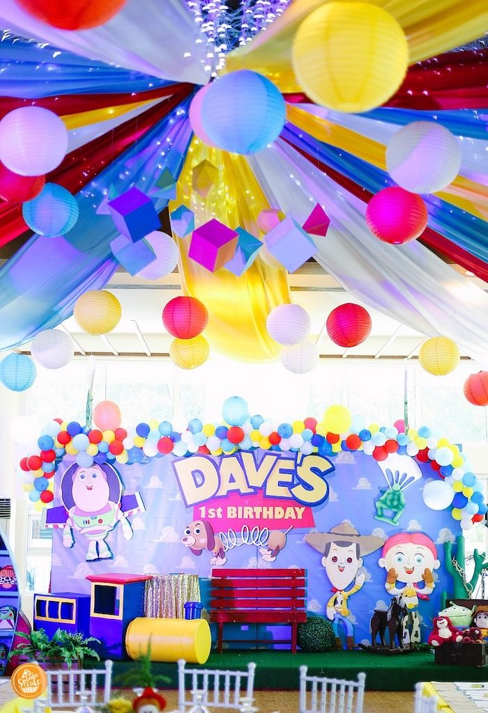 Toy Story Birthday Party on Kara's Party Ideas | KarasPartyIdeas.com (12)