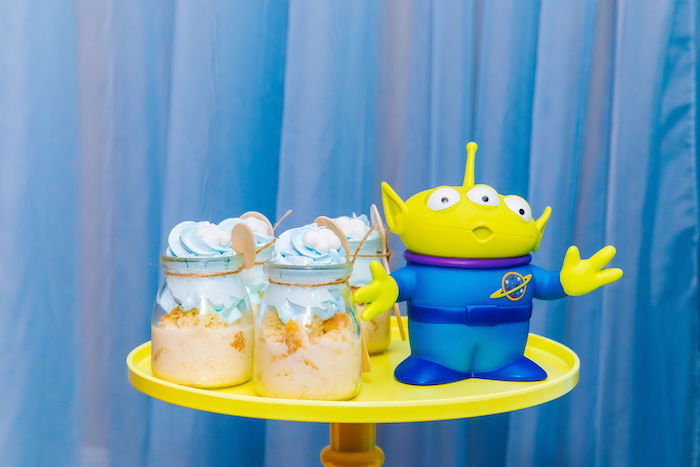 Cloud Dessert Cups from a Toy Story Birthday Party on Kara's Party Ideas | KarasPartyIdeas.com (35)