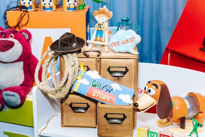 Toy Story Cookies + Decor from a Toy Story Birthday Party on Kara's Party Ideas | KarasPartyIdeas.com (26)