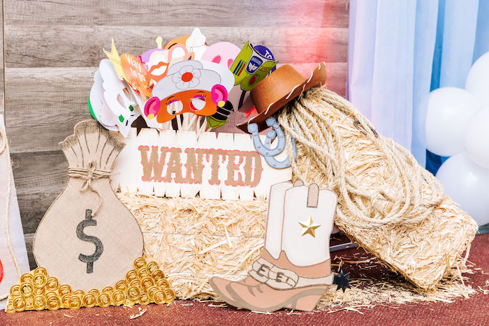 Toy Story-inspired Photo Booth Props from a Toy Story Birthday Party on Kara's Party Ideas | KarasPartyIdeas.com (17)