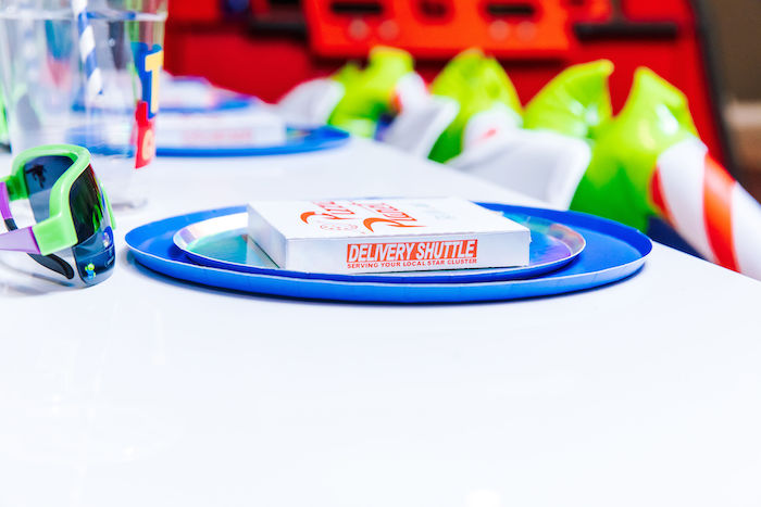 Mini Pizza Planet Box from a Toy Story Birthday Party on Kara's Party Ideas | KarasPartyIdeas.com (15)