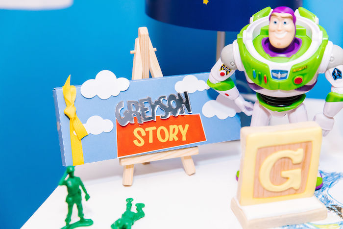 Custom Toy Story Candy Bar from a Toy Story Birthday Party on Kara's Party Ideas | KarasPartyIdeas.com (3)