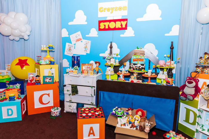 Toy Story Birthday Party on Kara's Party Ideas | KarasPartyIdeas.com (47)