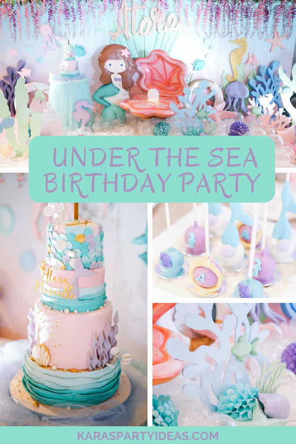 Under The Sea Birthday Party via Kara's Party Ideas - KarasPartyIdeas