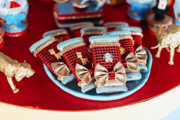 Circus Candy Bars from a Vintage Circus Birthday Party on Kara's Party Ideas | KarasPartyIdeas.com (32)